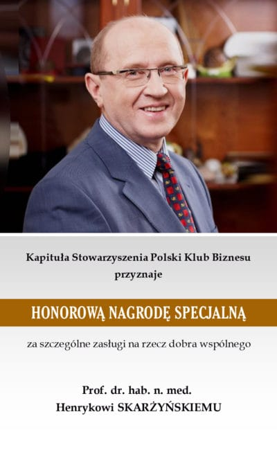 Prof. dr. hab. n. med. Henryk Skarżyński